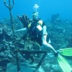 Irma op de stoel van Neptunus